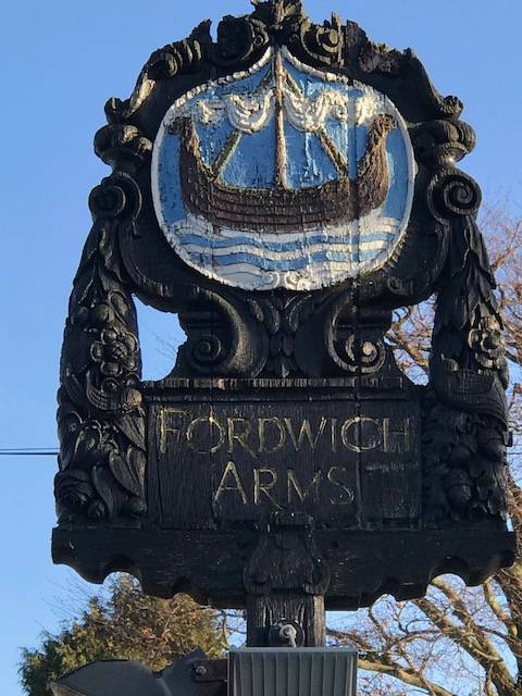 Fordwich arms sign