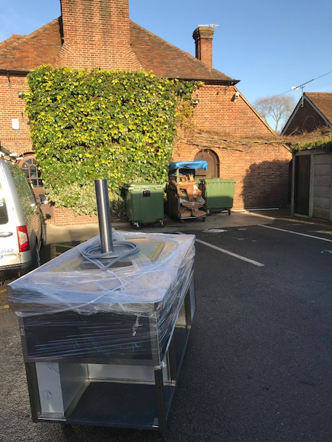 Fordwich induction suite delivery
