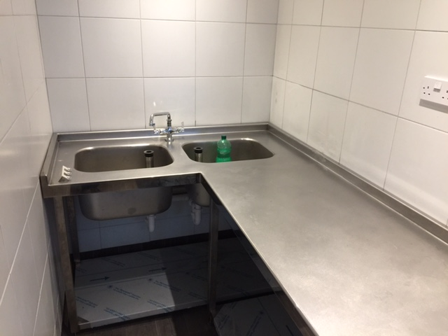 Commercial induction sink Harborne