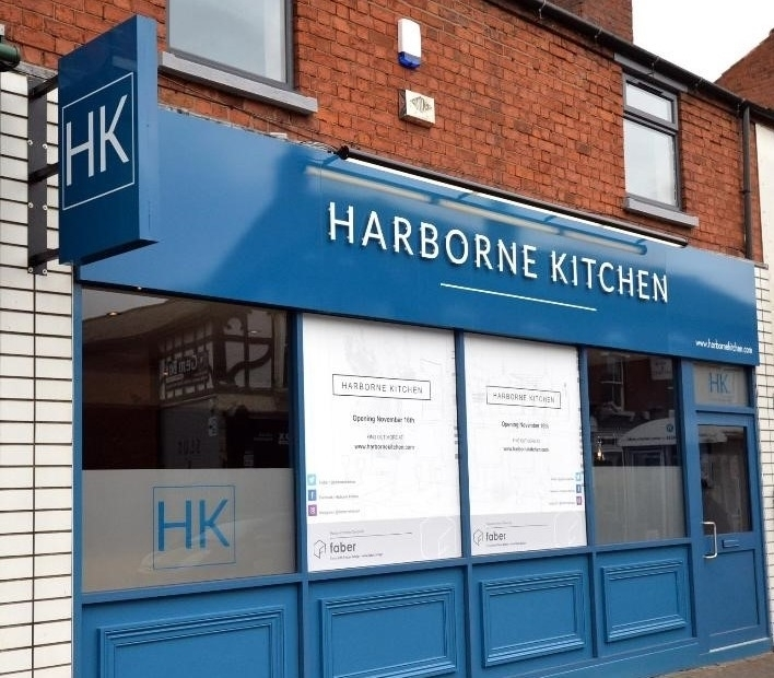 Harborne Kitchen Front