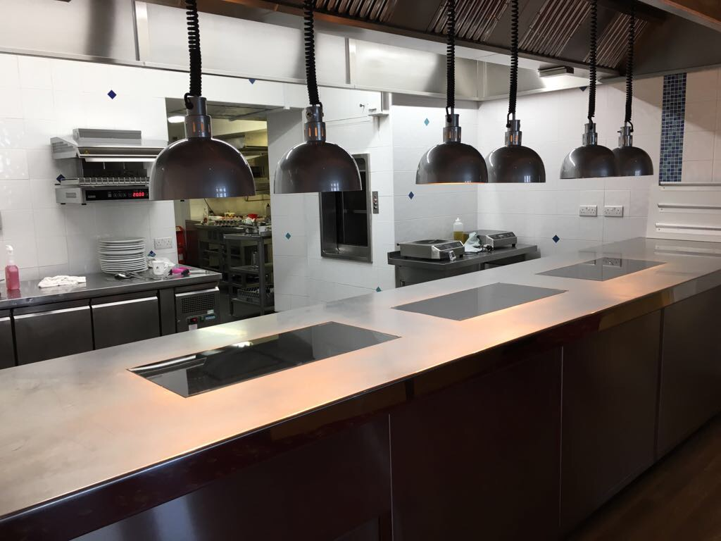 Induction kitchen pass Merrion