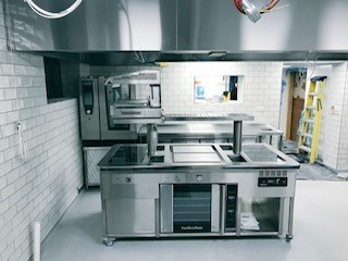 Pensons Yard Bespoke Cooking Suite Oven On Site Photo