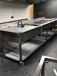 Roganic induction stove construction