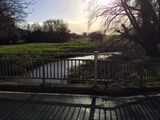 Gorgeous winter morning at Stoke Mill