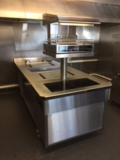 induction cooking suite installed