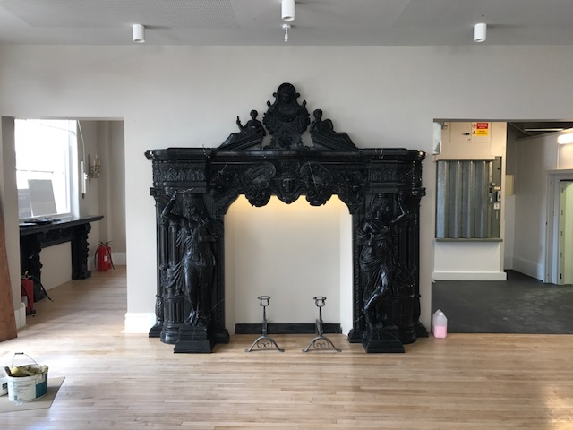 The Old Post Office Fireplace