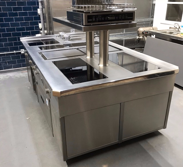 induction suite salamander plancha