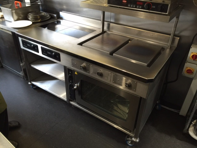 Verveine twin plancha 2 induction hobs