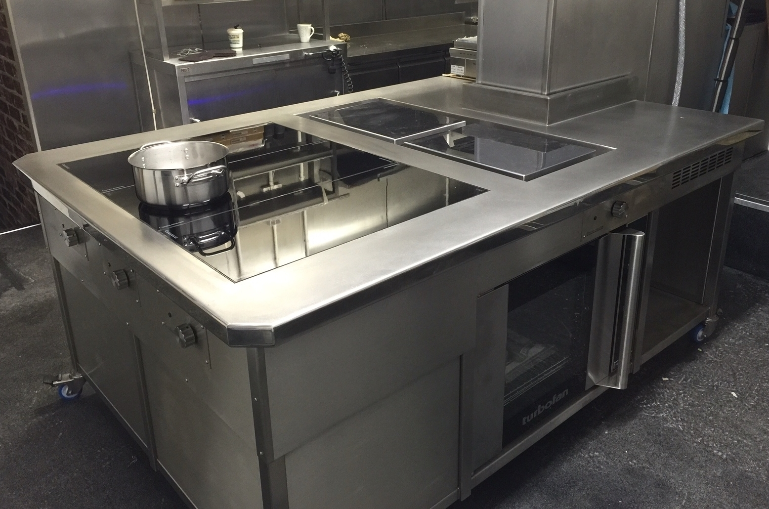 cooking suite bespoke induction
