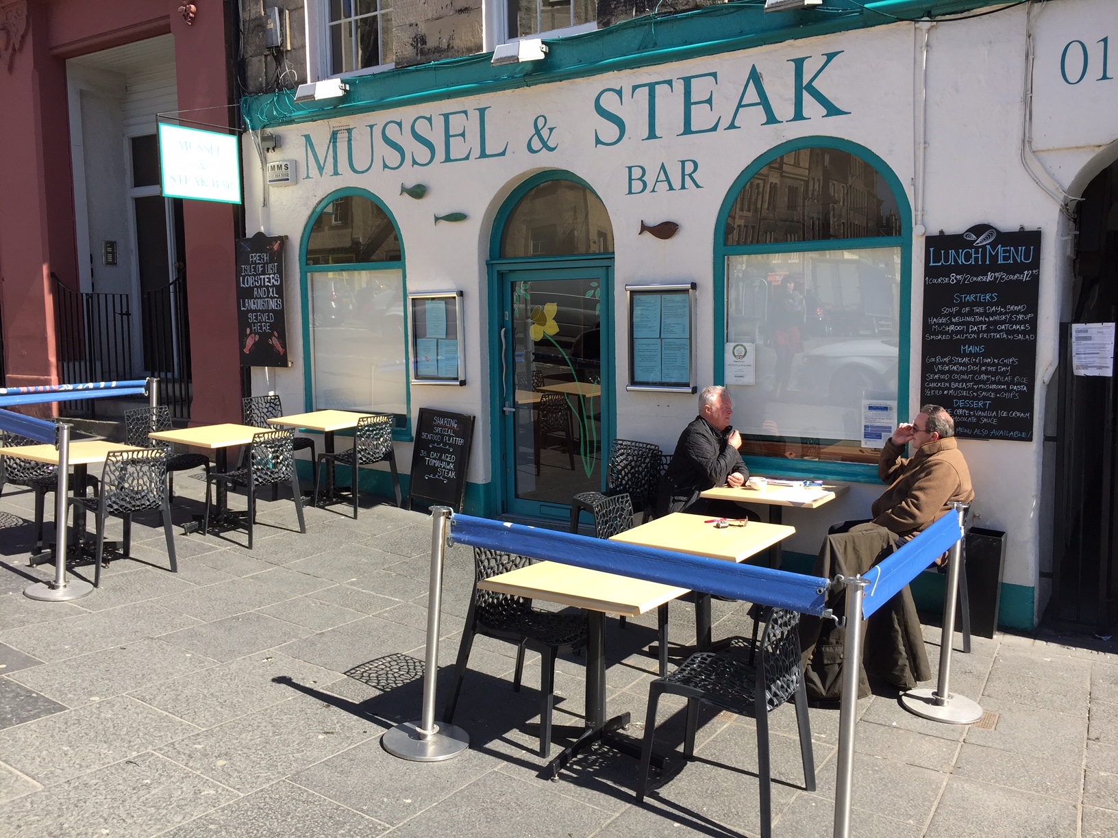Steak and Mussel bar Edinburgh