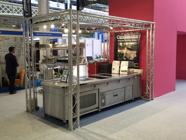 Cooking suite on stand Restaurant Show 2016