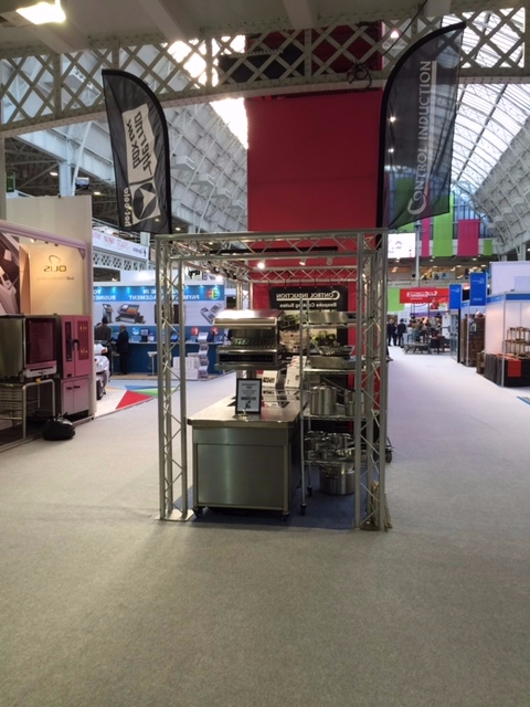Cookline on stand Restauarant Show 2016