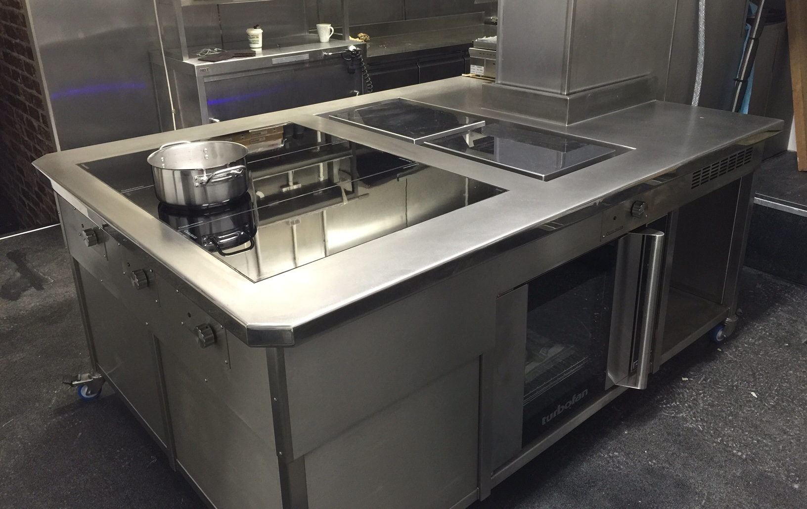Bespoke induction stove